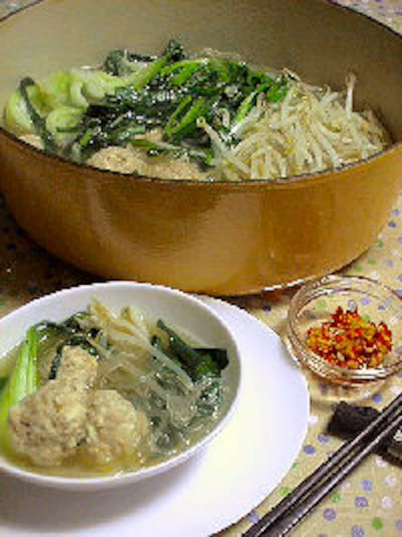 たっぷり野菜の中華風鍋 by 「おかずレシピ」ガイド山崎さん