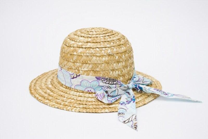 麦わら帽子も汗をしっかり落としたい