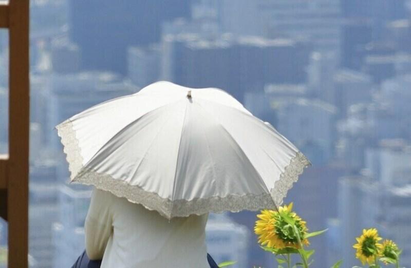 日傘もシーズン終わりにはメンテナンスが必要