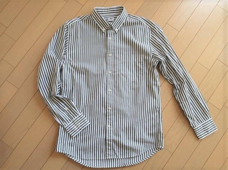 ユニクロ エクストラファインコットンブロードストライプシャツ 1990円(税込)