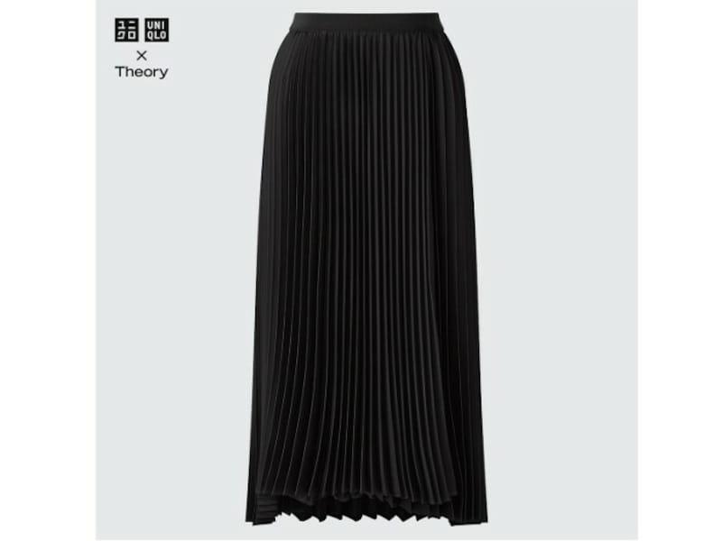 ユニクロ プリーツラップスカート 5990円(税込)