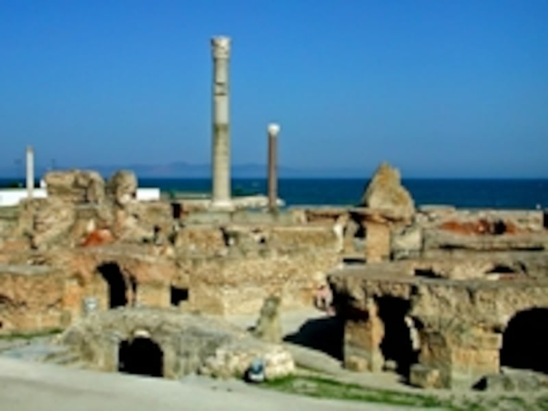 フェニキア人によって拓かれたカルタゴ。その後ローマ帝国の版図となり、ローマ第二の都市となって繁栄した