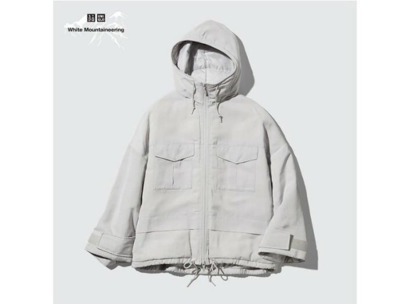 ユニクロ ハイブリッドダウンオーバーサイズパーカ 9990円(税込)