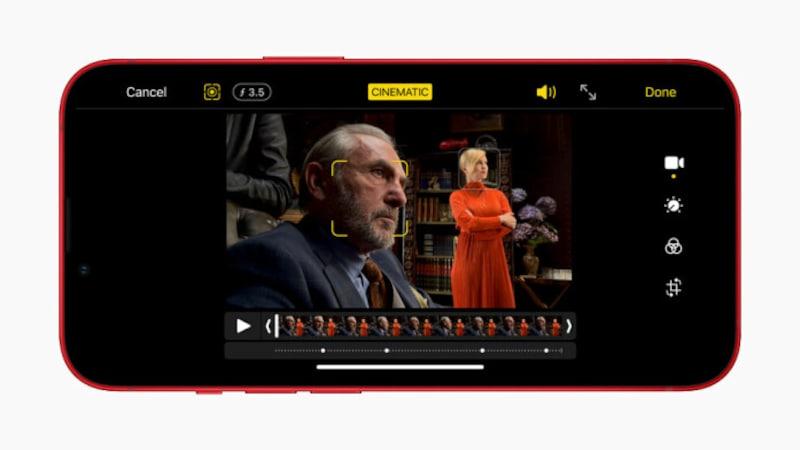 「シネマティックモード」を使えば、映画の一場面のような瞬間を撮影できる(出典:プレスリリース)