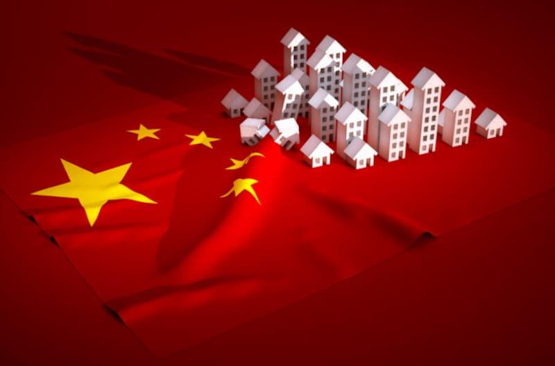 価格が高騰していた中国不動産