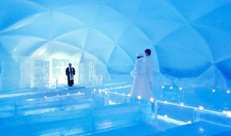 氷の教会(提供:星野リゾート)