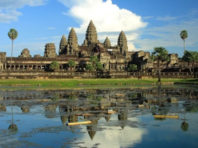 カンボジアの世界遺産「アンコール」のアンコールワット