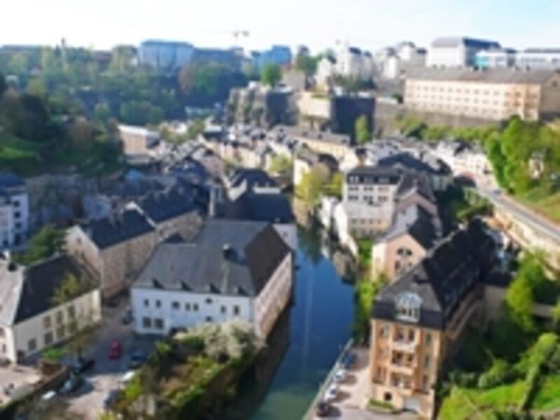 ルクセンブルクのグルント地区