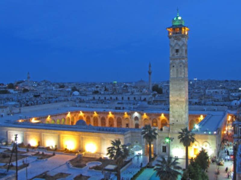 シリアの世界遺産「古都アレッポ」、グレート・モスク