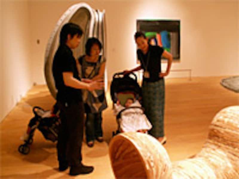 子供(幼児)旅行 「森美術館」のおやこでアート