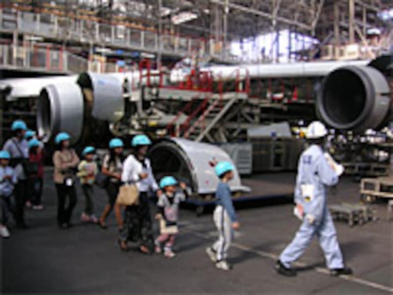 ANA「機体工場見学」