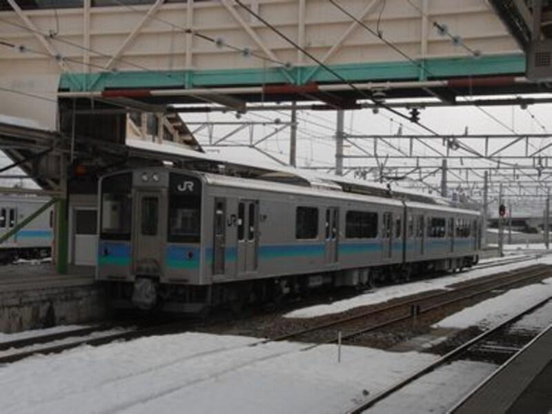 大糸線の普通列車
