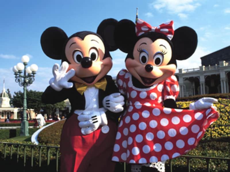 ディズニーランド ミッキーマウス&ミニーマウス