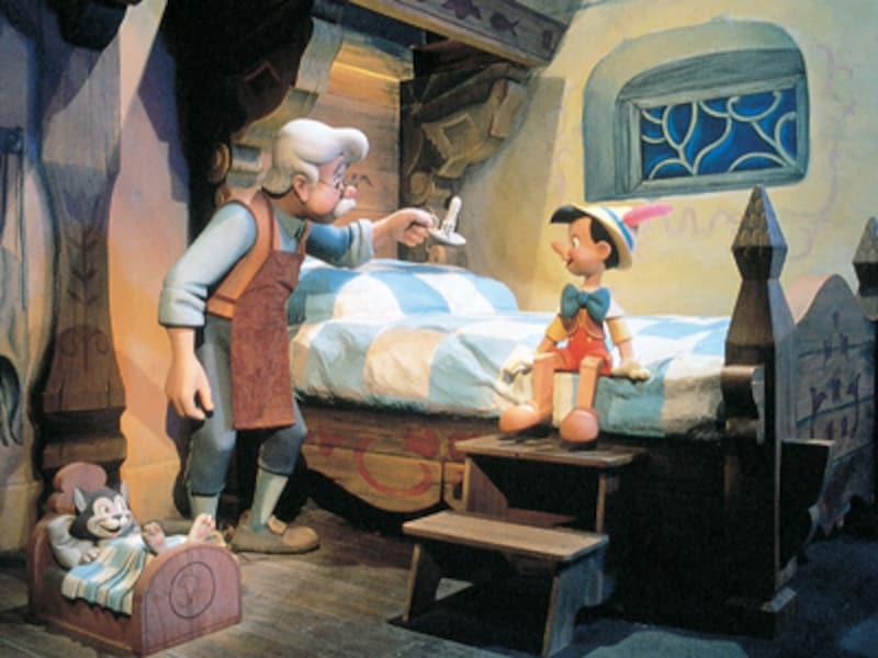 ディズニーランド 「ピノキオの冒険旅行」