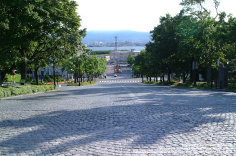 元町公園エリアにある『基坂(もといざか)』