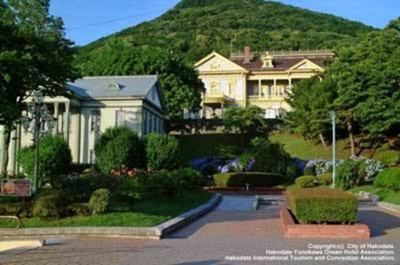 元町公園エリアには、旧函館区公会堂や函館市旧イギリス領事館が