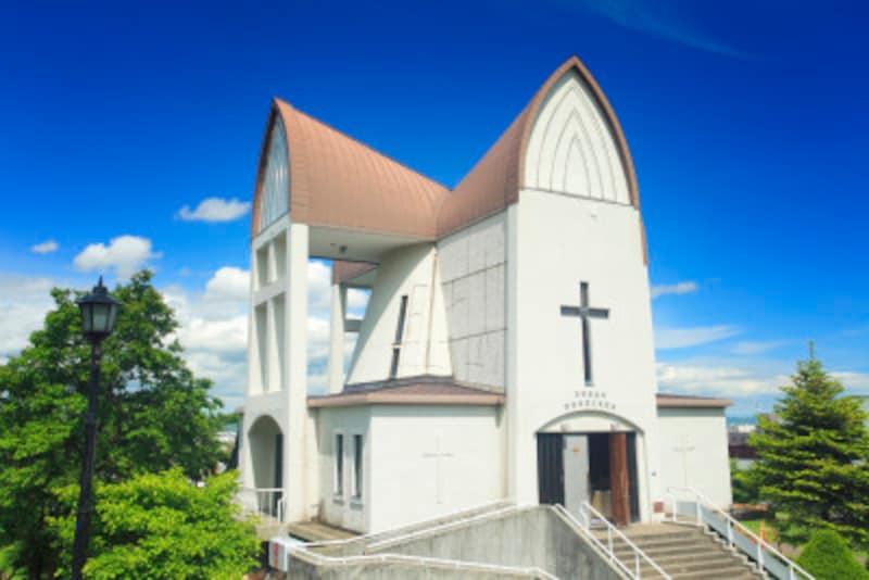函館聖ヨハネ教会外観