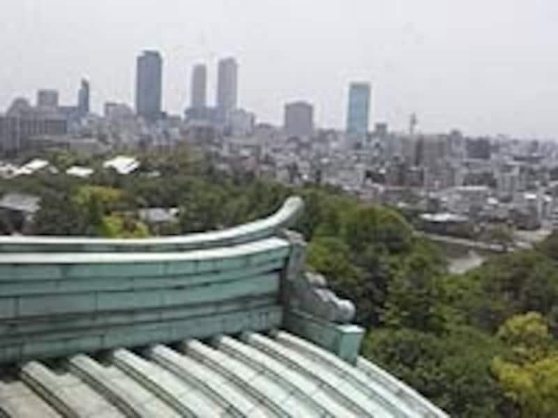 展望階からは名駅摩天楼も一望できる
