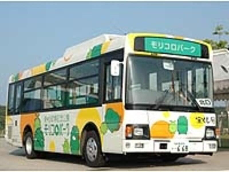 30分毎に無料運行している園内周遊バス