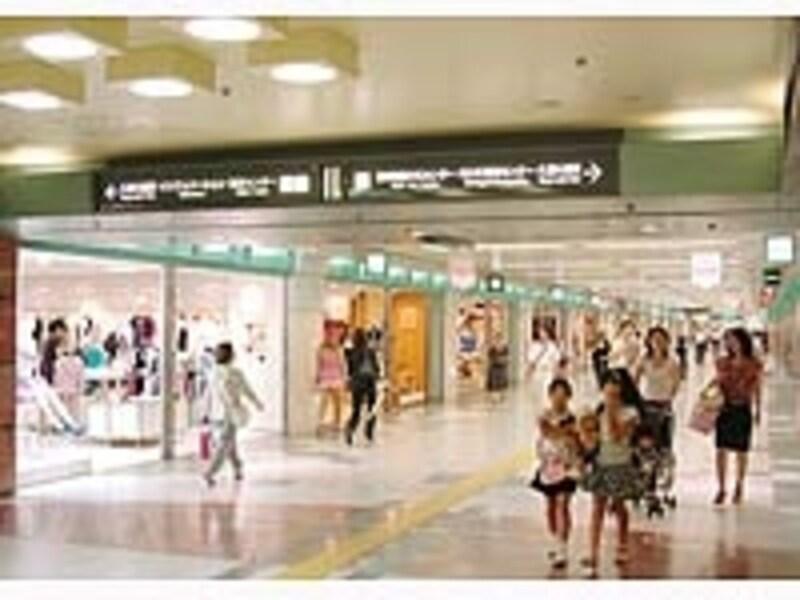 名古屋駅と比べて分かりやすい栄の地下街
