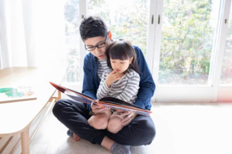 絵本などを通じての親子の心の交流が大事