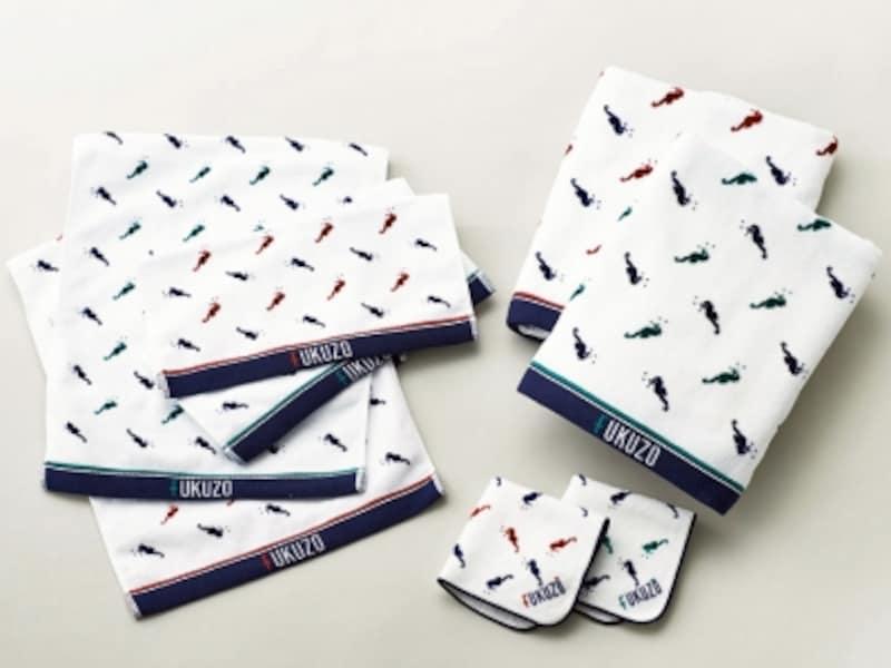 フクゾー「タツプリントundefinedタオルシリーズ(500~3000円税別)」。綿100%で上質なふんわりとした肌触りが人気(画像提供:ヨコハマ・グッズ横濱001)