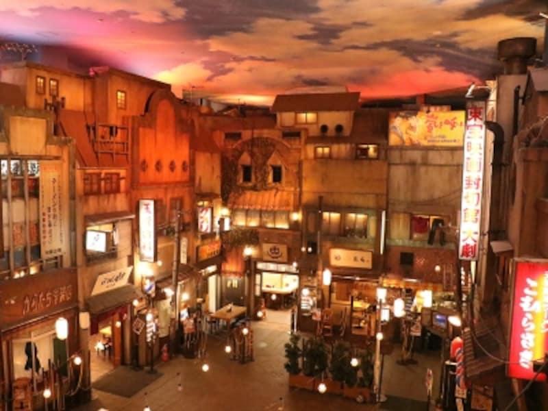 昭和レトロな内観がフォトジェニック(画像提供:新横浜ラーメン博物館)