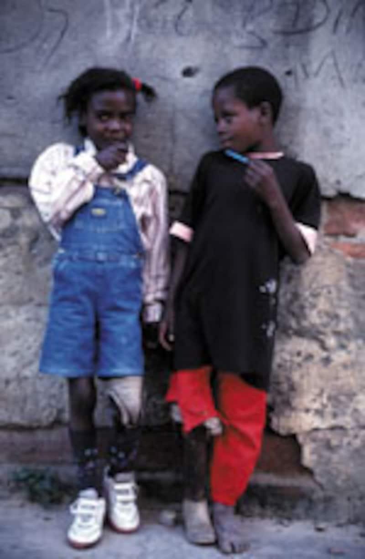 アンゴラの子どもたち