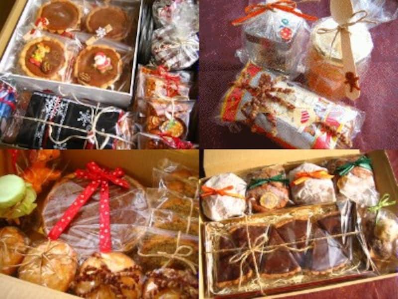 クリスマス&バレンタインのお菓子のラッピング