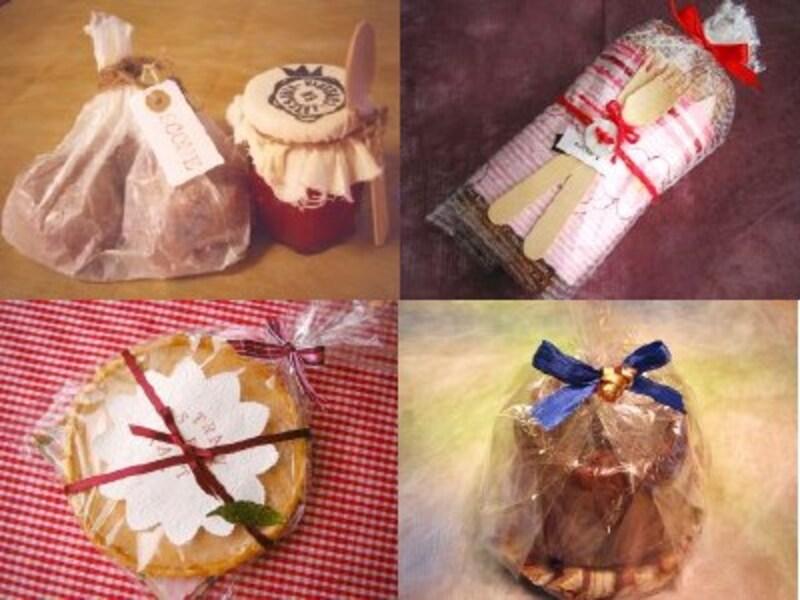 お菓子のラッピング各種