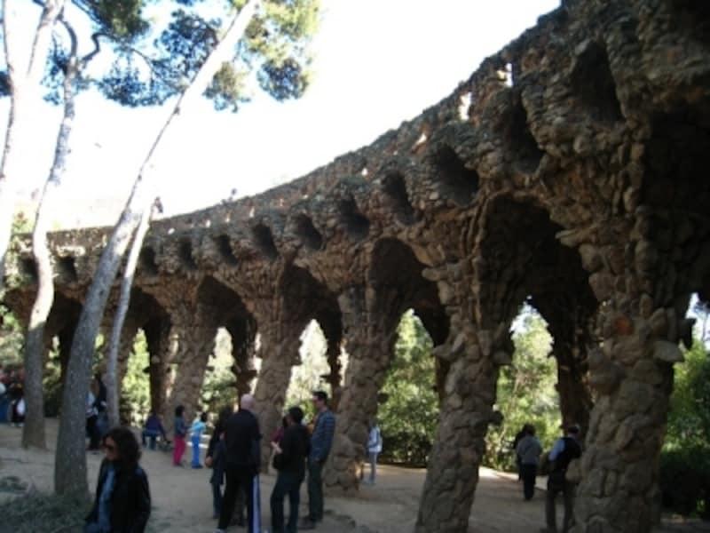 公園内には3つの高架橋がある