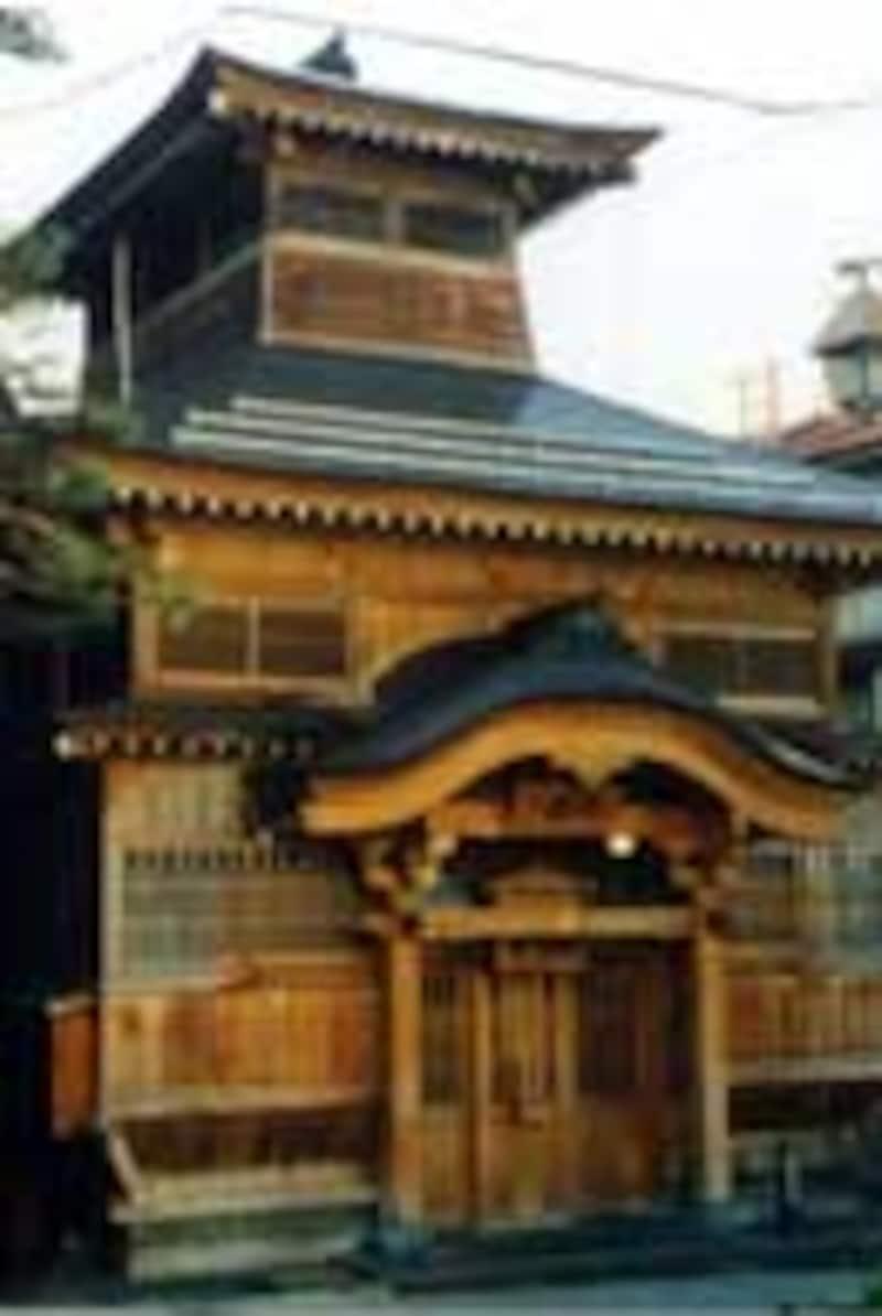 野沢温泉の大湯