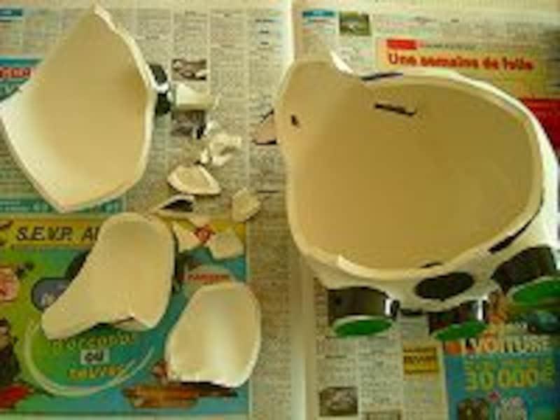 陶器修復注意1