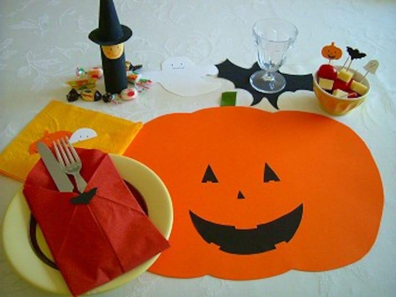 ハロウィン食卓画像中央