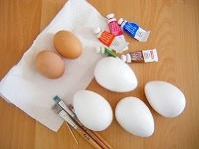 イースターエッグ手作り・作り方 材料