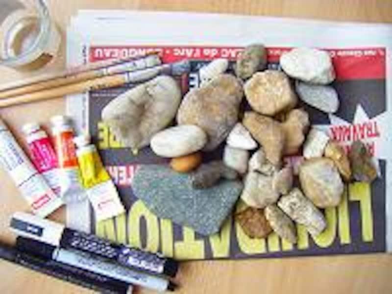 石ころアート材料
