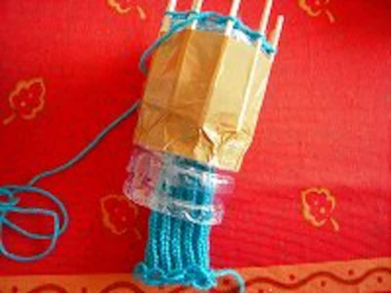 リリアン編み続き2