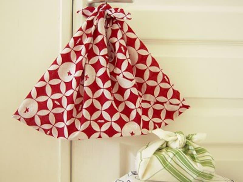 手ぬぐいで手作りするあずま袋の作り方