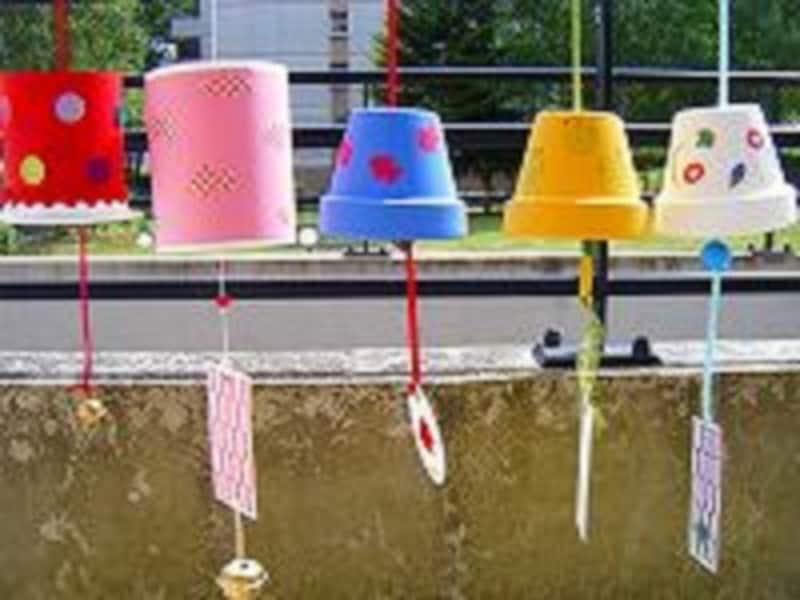 夏休みの工作に手作り風鈴おもちゃを作って夏の風情を楽しもう