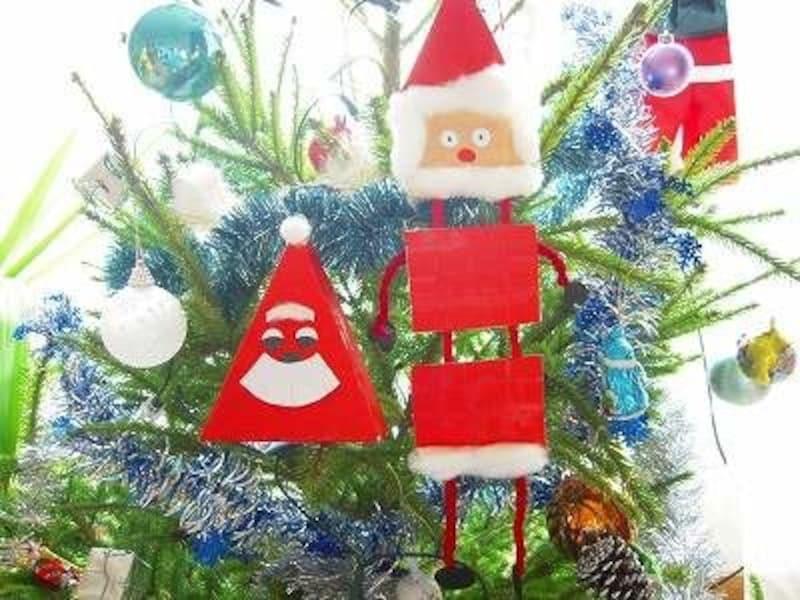 クリスマス工作におすすめ!簡単、空き箱サンタクロースの作り方