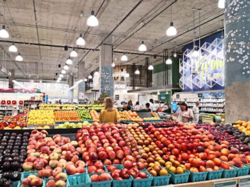 スーパーの野菜やフルーツは、基本「ポンド」の量り売りです