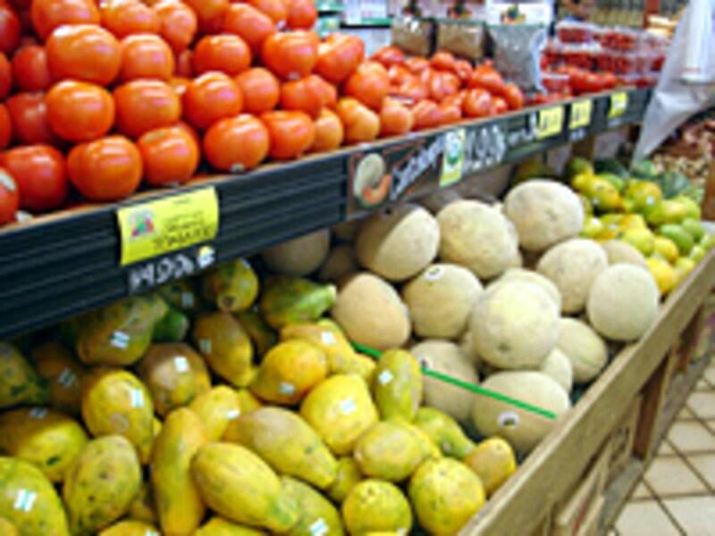 有機野菜と果物