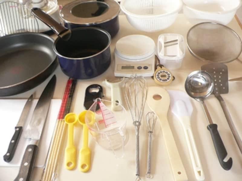 これだけはそろえておきたい調理器具