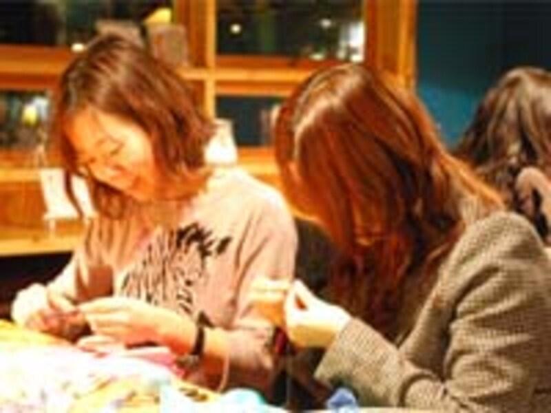 刺繍カフェ