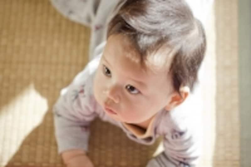 赤ちゃんの便や嘔吐物の掃除に、セスキ炭酸ソーダは最適。でも、畳に使うのはNG!