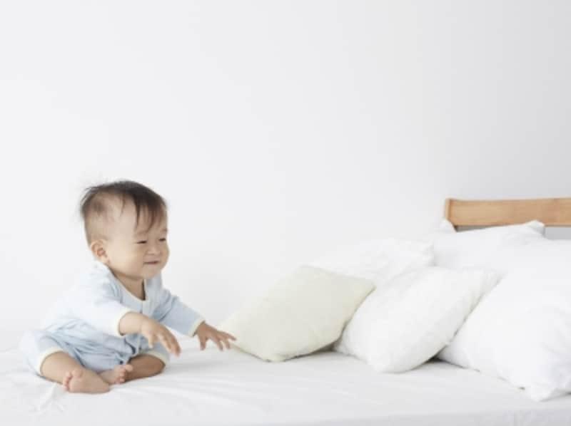 子どもってクッション好きですよね。このバスタオル・アンコのクッションなら、万一その上で粗相をされてしまってもダメージが少ないのも大きなメリットです!