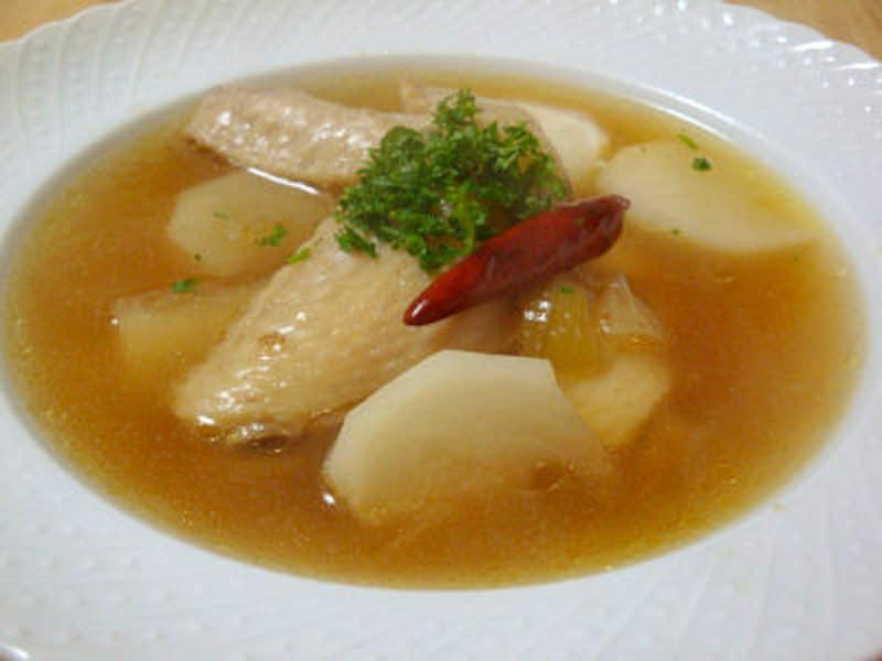 手羽先とかぶのスープ煮