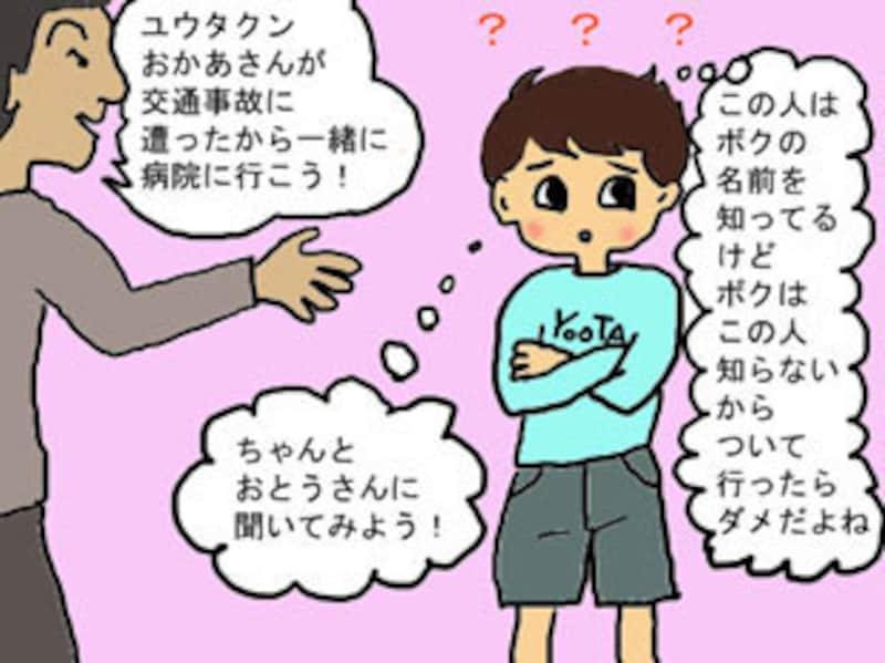 自分の名前を知っている知らない人は安全? 危険?Copyright(c)IllustratedbyYukikoSaeki