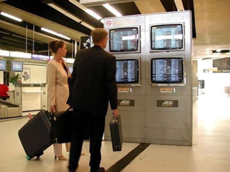 空港モニター