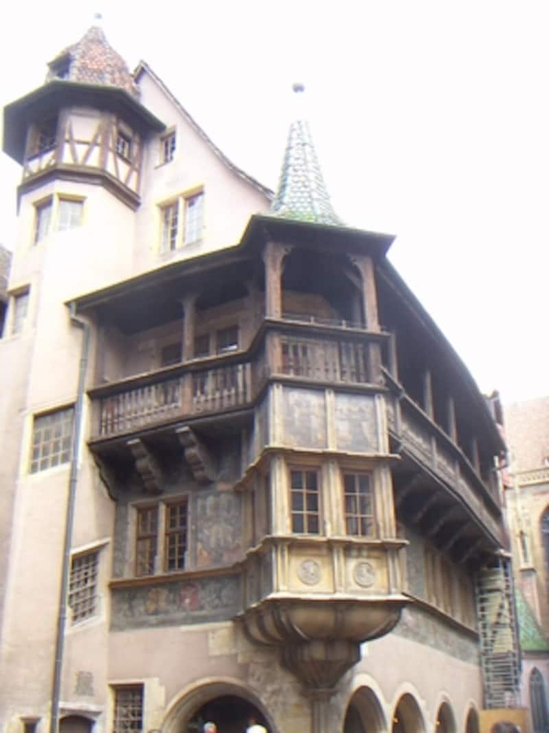 歴史を感じるプフィスタの家